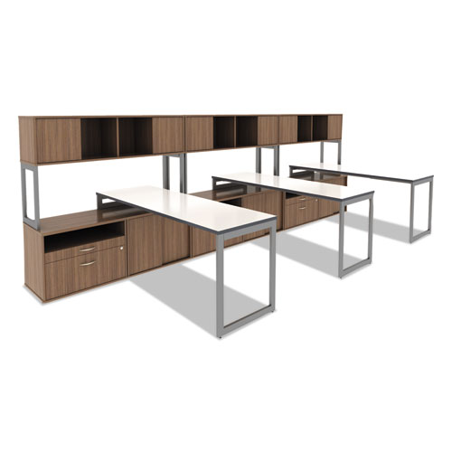 Alelstb24gr Alera Open Office Desk Series Adjustable O Leg
