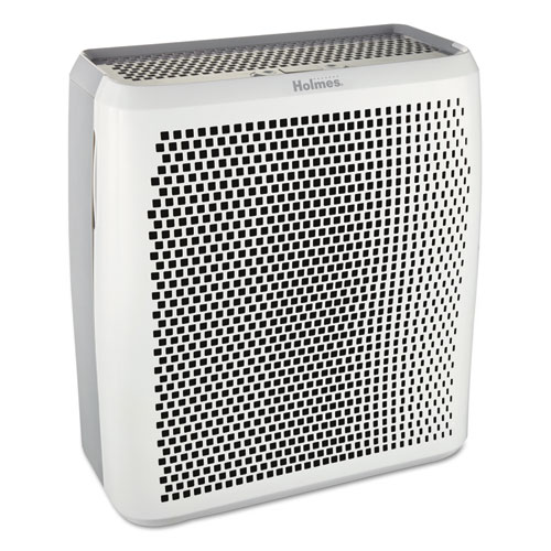 Holmes® True HEPA Large Room Air Purifier, 430 sq ft Room Capacity, White