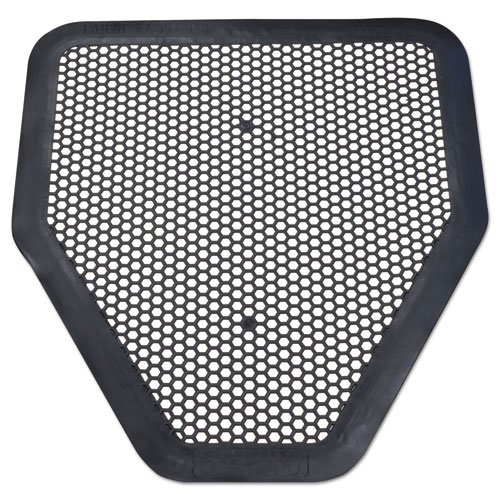 Big D Industries Deo-Gard Disposable Urinal Mat, Charcoal, Mountain Air, 17.5 x 20.5, 6/Carton