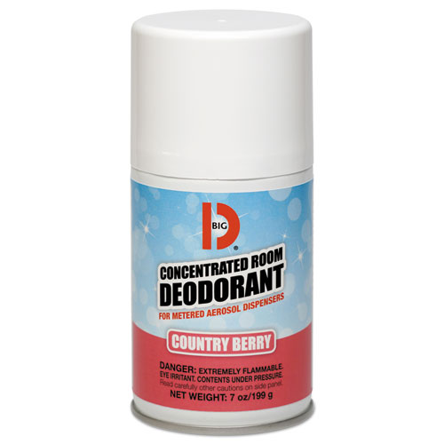 Metered Concentrated Room Deodorant, Country Berry Scent, 7oz Aerosol, 12/CT 476