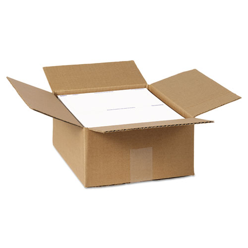 Shipping Labels With Paper Receipt Bulk Pack, 5 1/16 X 7 5