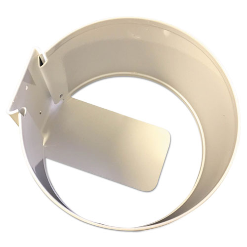 Wall Mount Holder, 6 x 6 x 4, White