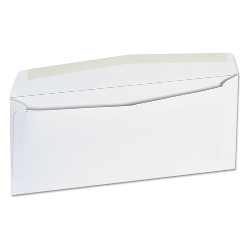 Business Envelope, 9, Squar Flap, Gummed Closure, 3.88 x 8.88, White, 500/Box