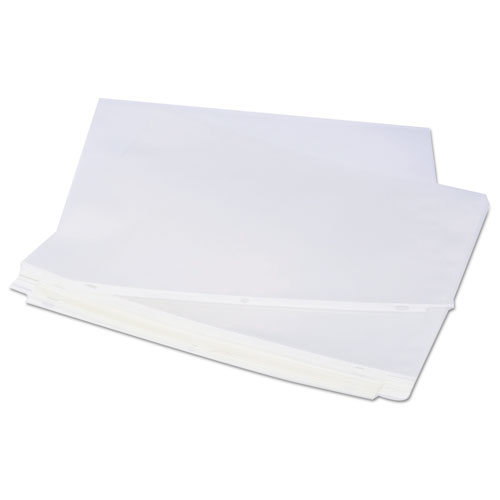 Top-Load Poly Sheet Protectors, Heavy Gauge, Clear, 50/Pack
