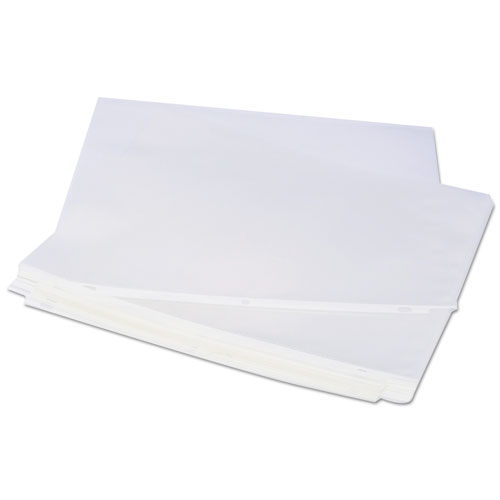 Top-Load Poly Sheet Protectors, Standard, Letter, Clear, 100/Box