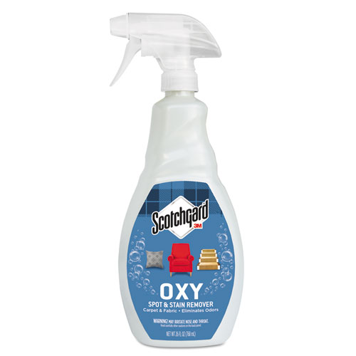 Scotchgard™ OXY Carpet Cleaner & Fabric Spot & Stain Remover, 26oz Spray Bottle