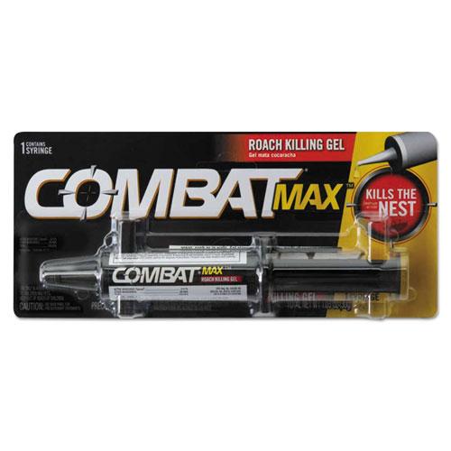 Combat® Source Kill Max Roach Killing Gel, 1.6 oz Syringe, 12/Carton