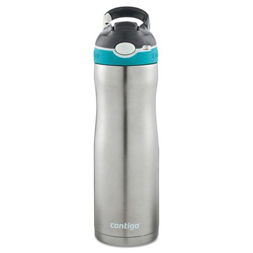 Contigo® AUTOSPOUT Ashland Chill Water Bottle, 20 oz, Scuba, Stainless Steel