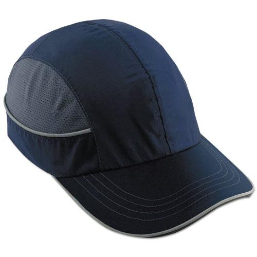 Skullerz 8950 Bump Cap, Long Brim, Navy