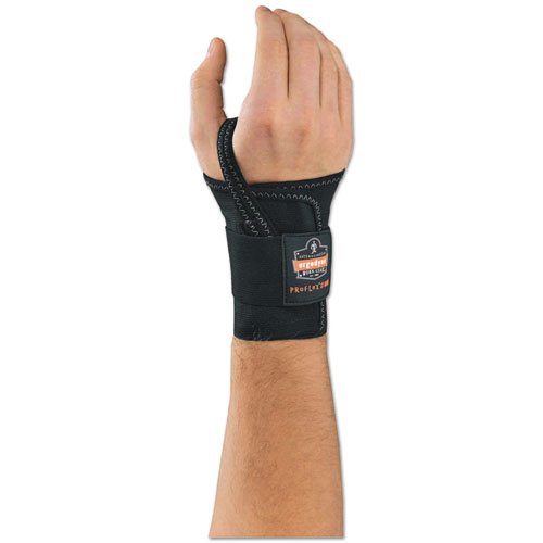 ProFlex 4000 Wrist Support, Right-Hand, Medium (6-7), Black