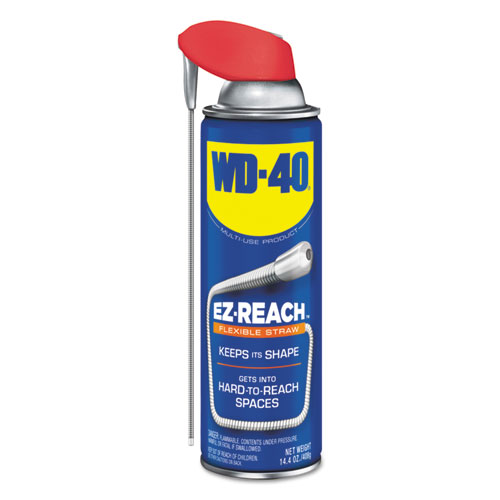 Lubricant Spray, 14.4 oz Aerosol Can w/EZ Reach Straw