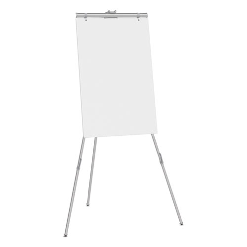aluminum heavy duty display easel 38 to 66 high aluminum silver