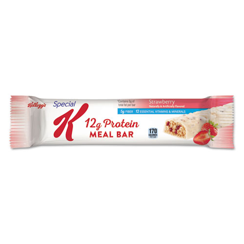 Special K Protein Meal Bar, Strawberry, 1.59 oz, 8/Box