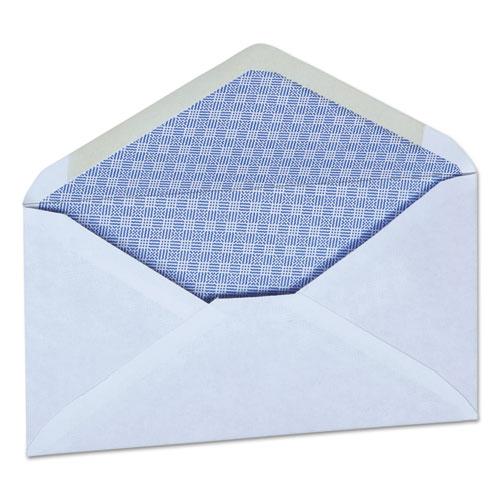 Business Envelope, 6 3/4, Monarch Flap, Gummed Closure, 3.63 x 6.5, White, 250/Box