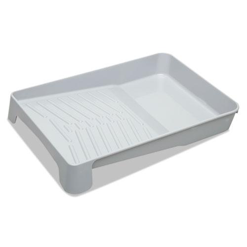8020015964243 SKILCRAFT 1-Quart Paint Tray, Polypropylene, 11 x 2 1/2 x 17, Gray