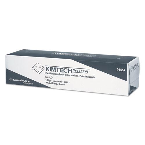 Precision Wiper, POP-UP Box, 1-Ply, 14 7/10 x 16 3/5 White, 140/Box