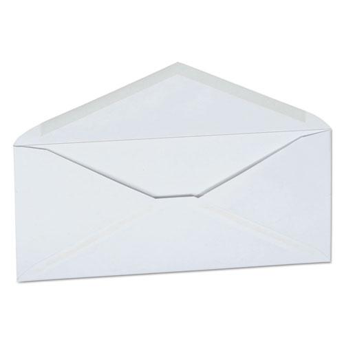 Business Envelope, 10, Monarch Flap, Gummed Closure, 4.13 x 9.5, White, 250/Carton