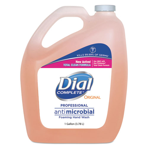 Dial® Professional Antimicrobial Foaming Hand Wash, Original Scent, 1gal