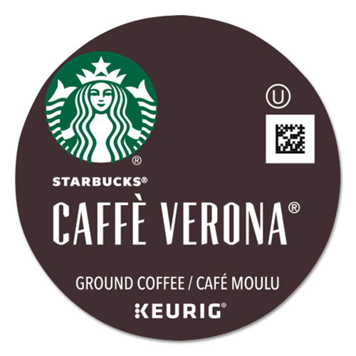 Starbucks® Cafe Verona Coffee K-Cups Pack, 24/Box