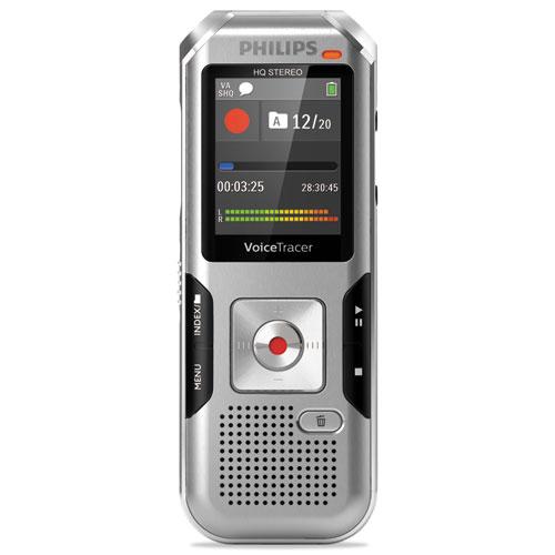Voice Tracer 4010 Digital Recorder, 8 GB, Silver