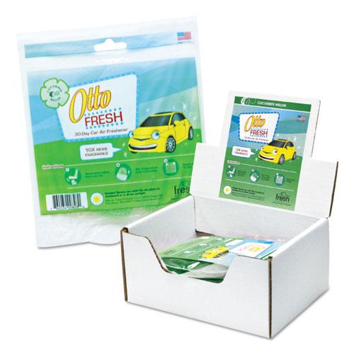 Fresh Products Otto Fresh Air Freshener Screen, Clean Breeze, 12/Box