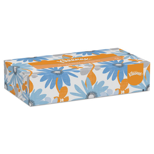 Kleenex® White Facial Tissue, 2-Ply, Pop-Up Box, 100/Box, 36 Boxes/Carton
