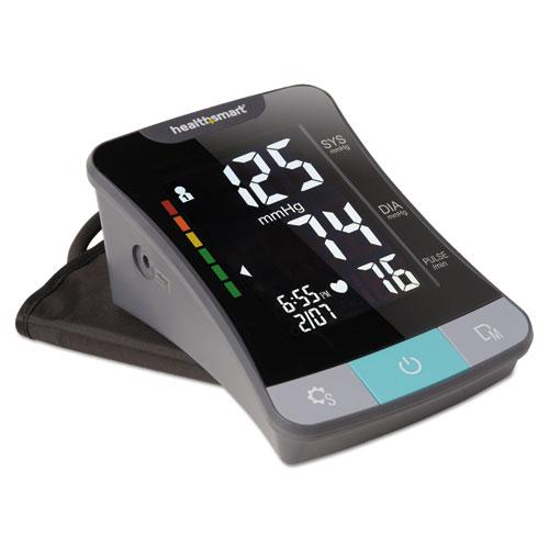 Premium Series Automatic Blood Pressure Monitor, Adult Standard, Black