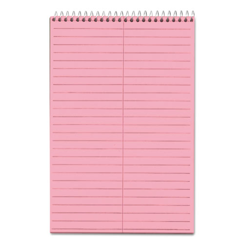 Prism Steno Books, Gregg Rule, 6 x 9, Pink, 80 Sheets, 4/Pack | by Plexsupply