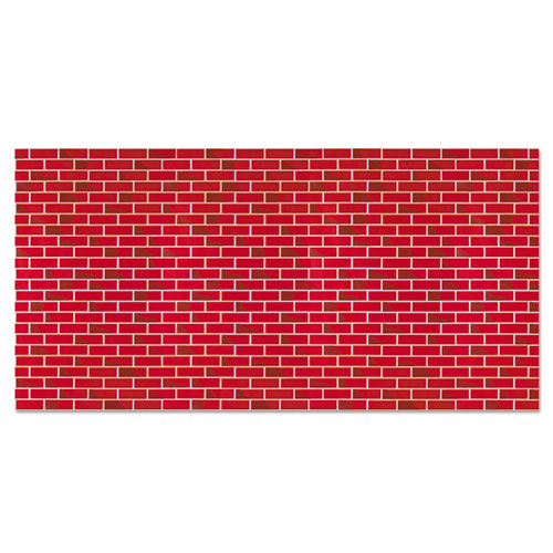 "Fadeless Designs Bulletin Board Paper, Brick, 48"" x 50 ft. 