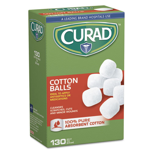 Sterile Cotton Balls, 1, 130/Box