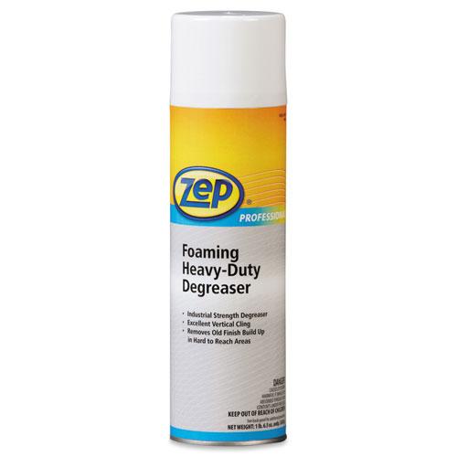 Zep Professional® Foaming Heavy Duty Degreaser, Aerosol Liquefied Gas, 24 fl oz, 12/Carton