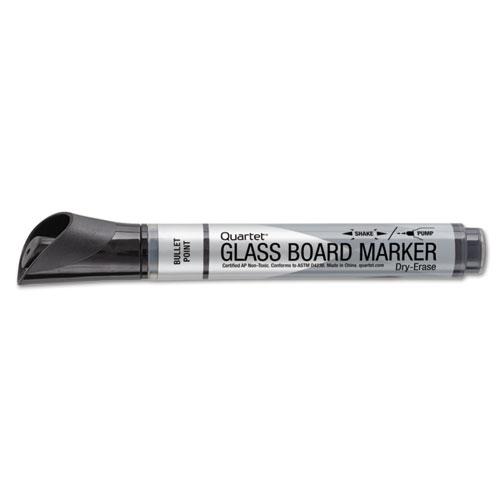 premium glass board dry erase marker bullet tip black dozen sani chem supplies. Black Bedroom Furniture Sets. Home Design Ideas