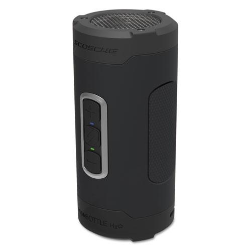 boomBOTTLE H2O Rugged Waterproof Wireless Speaker, Black/Gray