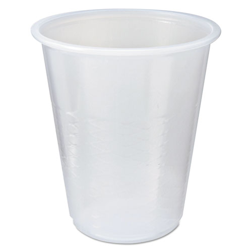 RK Crisscross Cold Drink Cups, 3 oz, Clear RK3