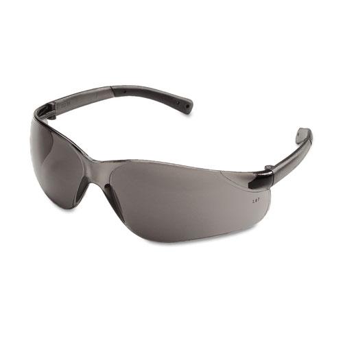 BearKat Safety Glasses, Wraparound, Gray Lens