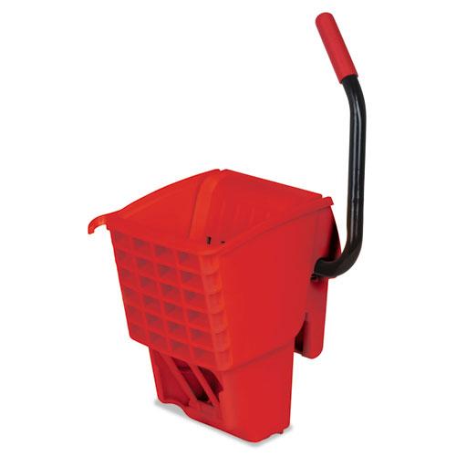 Rubbermaid® Commercial WaveBrake Side-Press Wringer, 13 x 13 x 27, Red