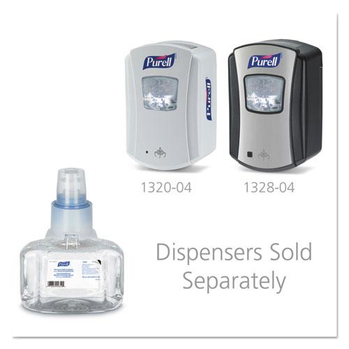 Green Certified Advanced Refreshing Foam Hand Sanitizer, For LTX-7, 700 mL, Fragrance-Free, 3/Carton