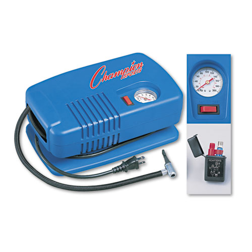Electric Inflating Pump w/Gauge, Hose  Needle, .25hp Compressor