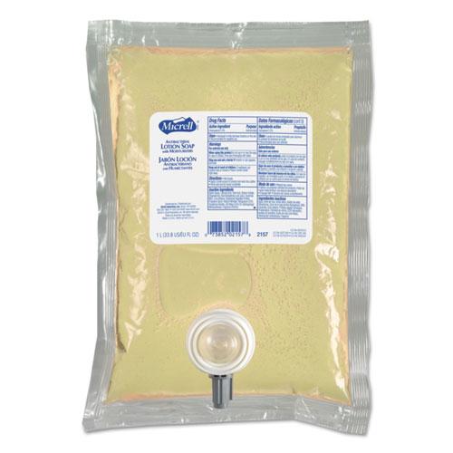 NXT Antibacterial Lotion Soap Refill, Balsam Scent, 1000mL, 8/Carton
