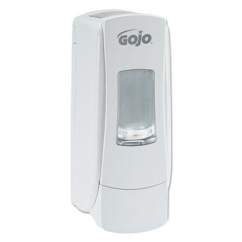 "ADX-7 Dispenser, 700 mL, 3.7"" x 3.5"" x 9.7"", White, 6/Carton | by Plexsupply"