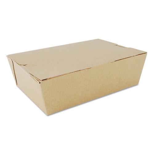 SCT® ChampPak Carryout Boxes, #1, 4.38 x 3.5 x 2.5, Kraft, 450/Carton
