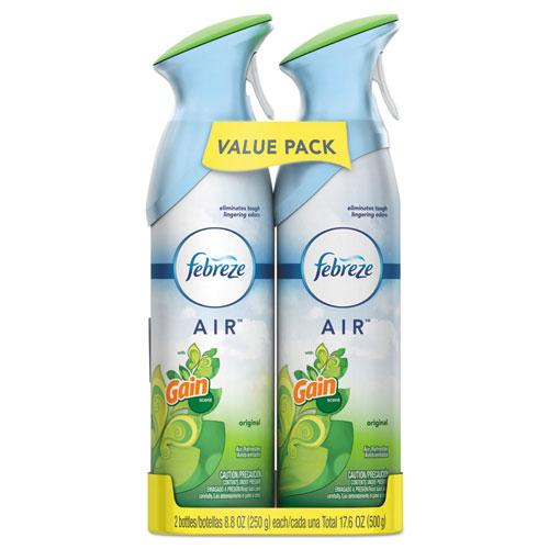 Febreze® AIR, Gain Original, 8.8 oz Aerosol, 2/Pack, 6 Pack/Carton
