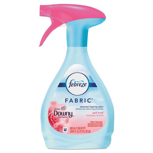 Febreze® FABRIC Refresher/Odor Eliminator, Downy April Fresh, 27 oz Spray Bottle, 4/CT