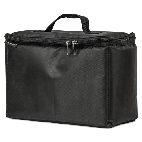 Cooler Tote, 420 Denier Nylon, 13 x 6 x 9 1/2, Black
