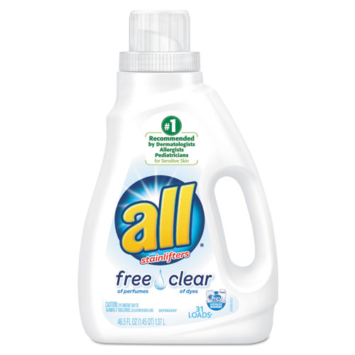 All® Free Clear HE Liquid Laundry Detergent, 50 oz Bottle