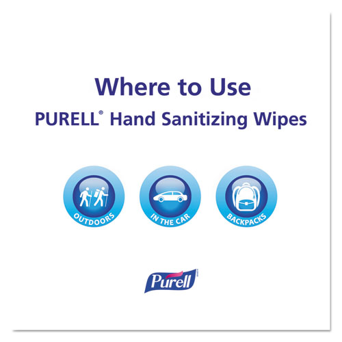 Hand Sanitizing Wipes, 5 7/10 x 7 1/2, Clean Refreshing Scent, 40/Canister, 6/Case