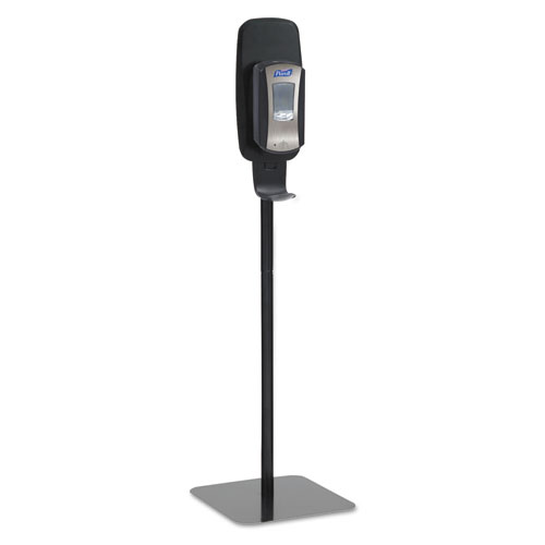 LTX or TFX Touch-Free Dispenser Floor Stand, Black, 23 3/4 x 16 3/5 x 5 29/100