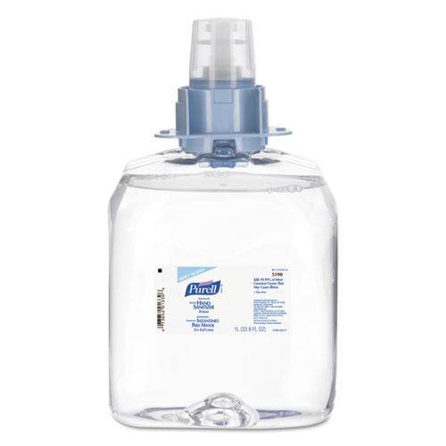 Advanced Instant Hand Sanitizer Foam, 1200mL FMX Refill, 3/Carton