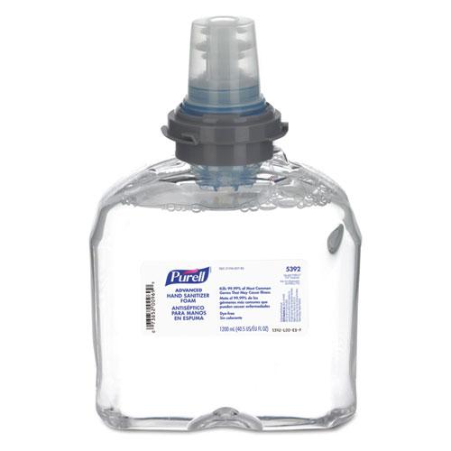 PURELL® Advanced TFX Foam Instant Hand Sanitizer Refill, 1200 mL, White