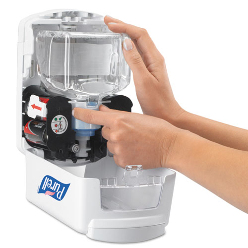 LTX-7 Touch-Free Dispenser, 700 mL, 5.75 x 4 x 8.62, White